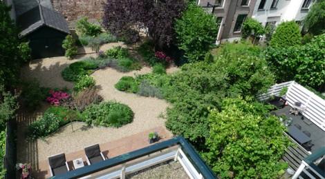 Tuin aan de stadsmuur